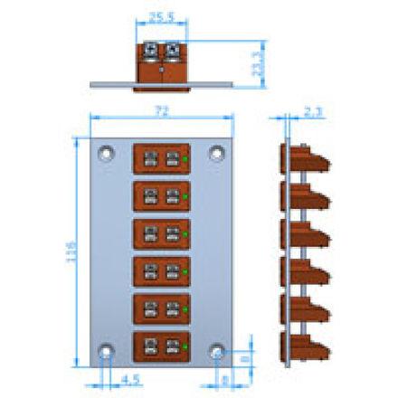 Immagine di Pannello Standard Verticale Alta Temperatura