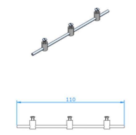 Immagine di Accessori per Pannello – Kit di Montaggio