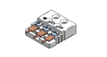 Immagine di Presa Miniatura per Montaggio PCB a Tre Contatti