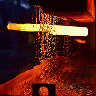 Immagine di Misura della temperatura dell'acciaio